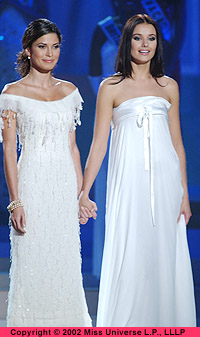 Miss Universe 2002, Justine Pasek